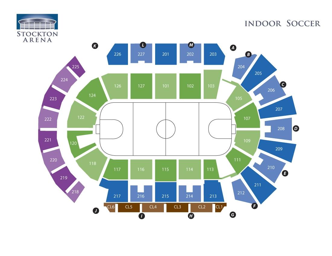 Stockton Arena -  Soccer